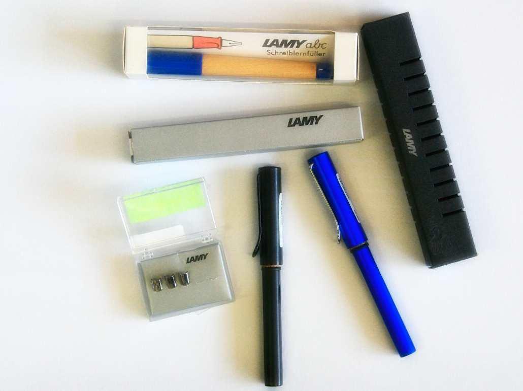 Lamy Produkte bei die Pappmäuse