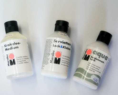 Marabu Produkte bei die Pappmäuse