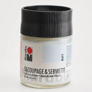Produktbild Marabu Decoupage & Serviette Lack und Kleber matt