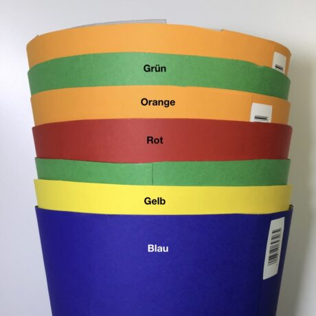 Produktbild Schultüte rund ca. 70 cm lang, ca. 18 cm Durchmesser