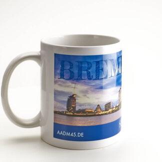 Produktbild Fototasse Bremerhaven Skyline © Adrian Wackernah bei Die Pappmäuse Sigrun Toben