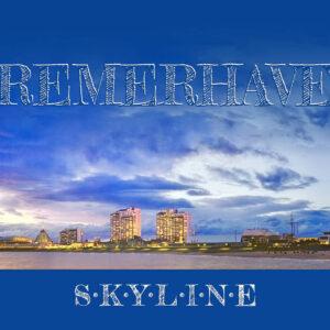 Produktbild Postkarte Bremerhaven Skyline