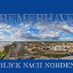 Produktbild Bremerhaven Blick nach Norden Postkarte © Adrian Wackernah